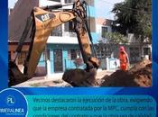 inicia renovación redes agua desagüe urb. santa rosa…