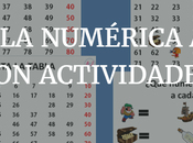 ABN: Tabla numérica ficha imprimible actividades