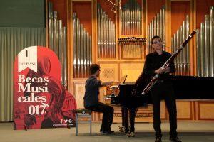 Ganadores de las Becas Musicales Iberpiano 2017