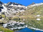 Laguna grande charca esmeralda (sierra gredos)