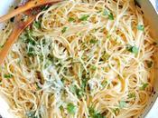 Espaguetis aglio olio