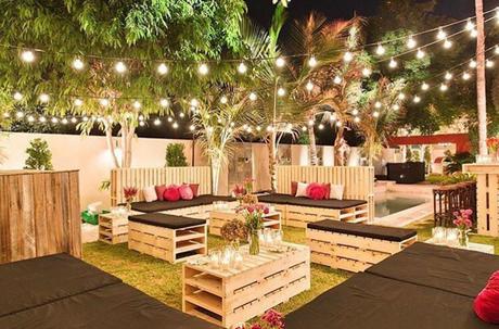 Ideas para fiestas con materiales reciclables paperblog for Decoracion fiesta jardin