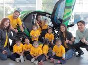 Renault celebra Niño caravana diversión