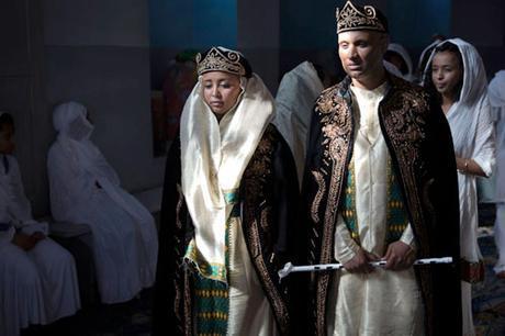 Vestido de novia en Eritrea