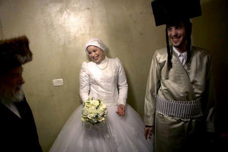 Vestido de novia judía