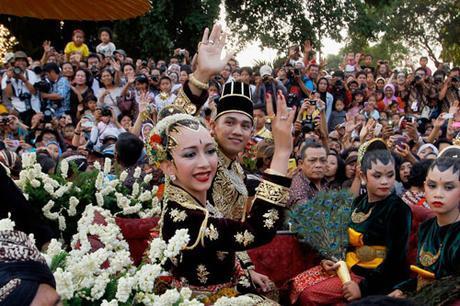 Vestido de Novia en Indonesia