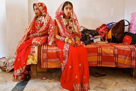 Vestido de novia en la India