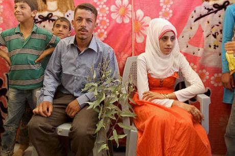 Vestido de novia en Siria