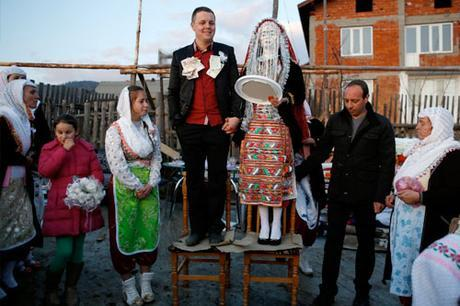 Vestido de novia en Bulgaria