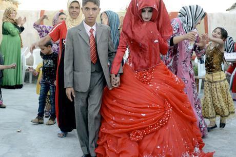 Vestido de novia en Irak