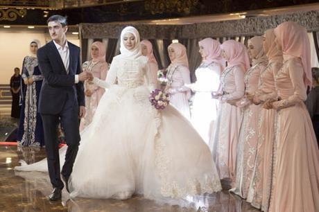 Vestido de novia en Chechenia