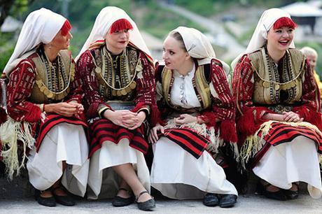 Vestido de novia en Macedonia