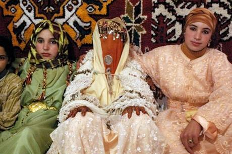 Vestido de novia en Marruecos