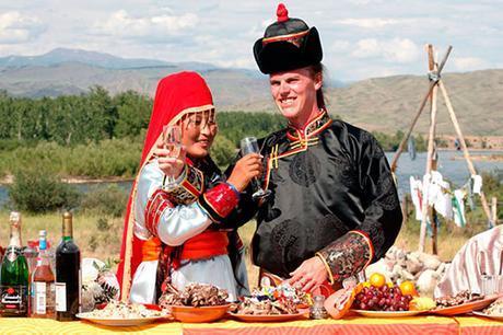 Vestido de novia en Tuvan
