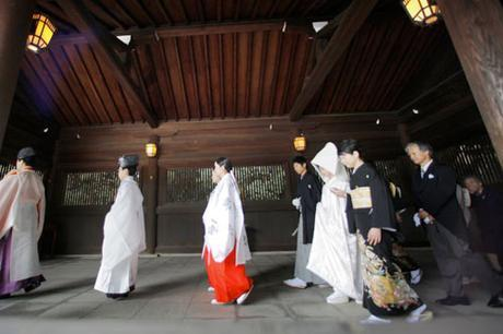 Vestido de novia en Japón