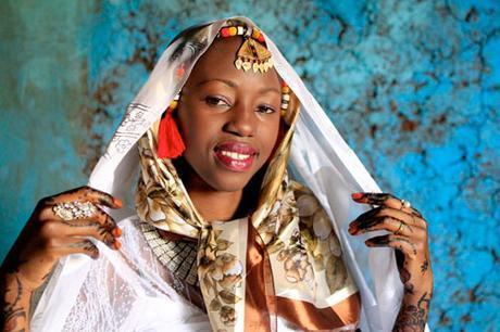 Vestido de novia en Nubia