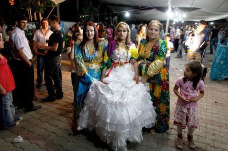 Vestido de novia en Turquía
