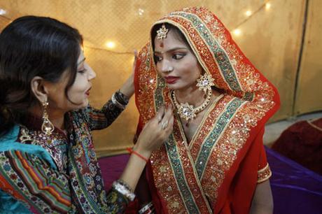 Vestido de novia en Pakistán