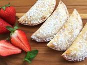 Strawberry hand pies (empanadillas fresas)