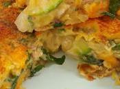 Tortilla vegana calabacin, albahaca queso vegano cheddar Wilmersburguer