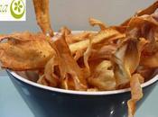 Chips chirivía tomillo, mostaza