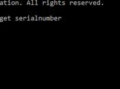 Como obtener serial computadora desde Windows Linux