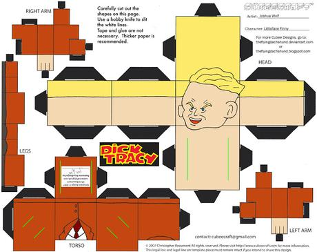 Cubeecraft - Dick Tracy