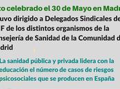 acompañamiento Delegado Sindical afectados Acoso Laboral ámbito sanitario