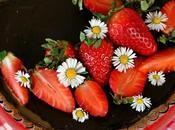 Tarta caramelo salado chocolate fresas