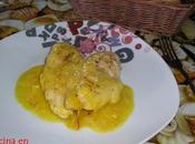 Pechugas salsa pepitoria