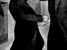 1913: Puñetazo mortal entre clérigos cosas naipes