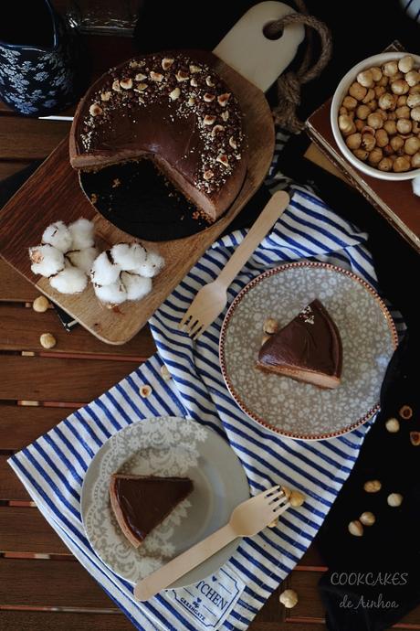 Cheesecake de Nutella y Plátano - Cookcakes de Ainhoa