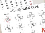 Ficha imprimible: Cruces numéricas tabla