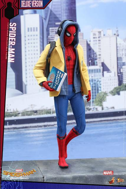 Nuevo vistazo a la figura de Hot Toys de 'Spider-Man: Homecoming'