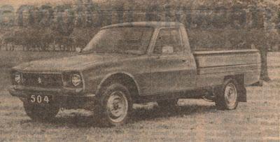 La camioneta Peugeot 504