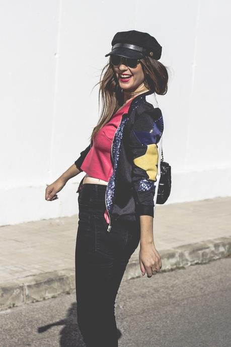 BLOGGER CLOSET-SPECIAL LUXURY BOMBER