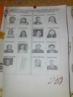 EL RECREO -- Centro de La Economia Comunal Manuelita Sáenz Sus elecciones y algo más...