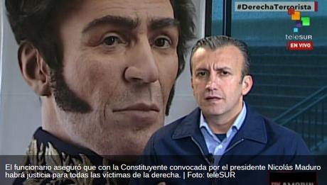 #Venezuela #Cuba #CubaEsNuestra Vpte. de Venezuela denuncia manipulación opositora en muerte de Neomar Lander