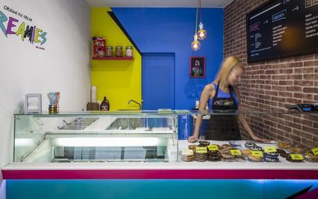 Creamies: el sándwich helado más deseado en Malasaña