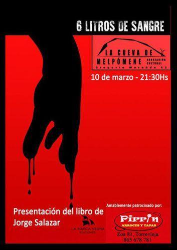 Jorge Salazar nos habla de 'Seis litros de sangre', una novela negra ambientada en 1978
