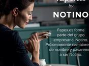 ¡FAPEX cambia nombre! misma tienda siempre muchas ventajas, llamar NOTINO
