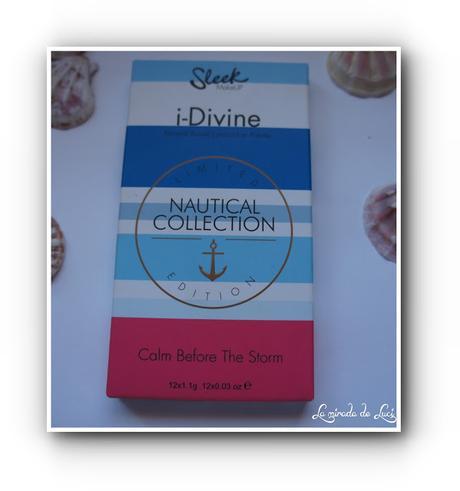 SLEEK, paleta i-Divine, E.L. Nautical Collection, Calm Before The Storm
