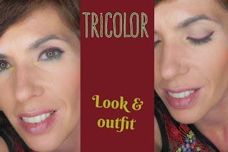 Tricolor: Maquillaje y moda