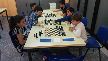 """Clausura del """"programa ajedrez"""" en la escuela y entrega de los trofeos de la VII Liga escolar de ajederez"""