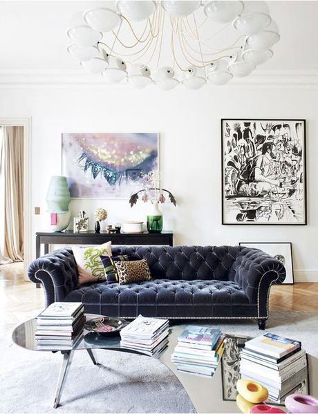 Deco: Tendencia velvet en el hogar