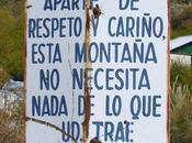 Senderismo, montaña respeto entorno.