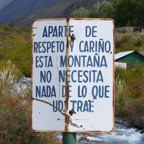 Senderismo, montaña y respeto por el entorno.