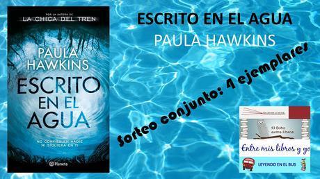 Ganador de Escrito en el agua de Paula Hawkins