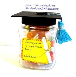 souvenirs-graduación-frascos-reciclados