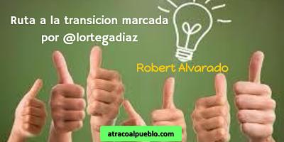 RUTA A LA TRANSICIÓN MARCADA POR @LORTEGADIAZ